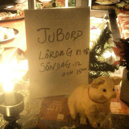 Julbord eller jubord