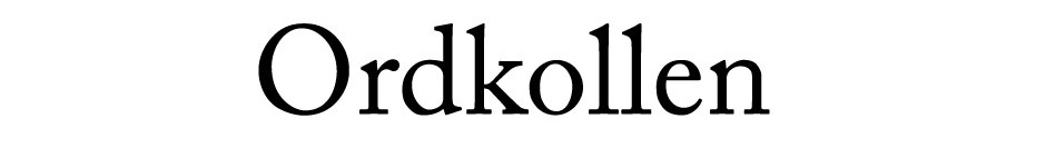 Rättstavning hos Ordkollen.se