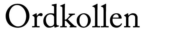 Rättstavning på svenska hos Ordkollen.se