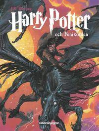 Boken Harry Potter och Fenixorden av J.K.Rowling. Del fem.