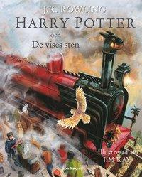 Boken Harry Potter och de vises sten av J.K. Rowling. Del ett.