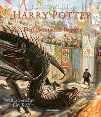 Boken Harry Potter och den flammande bägaren av J.K. Rowling. Del fyra.
