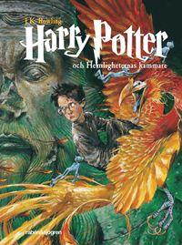 Boken Harry Potter och hemligheternas kammare av J.K. Rowling. Del två.