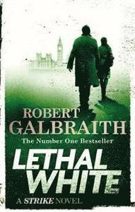 Boken Lethal White av Robert Galbraith aka J.K. Rowling.