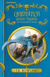Boken Quidditch genom tiderna av J.K. Rowling.