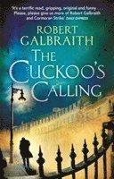 Boken The Cuckoo's Calling av Robert Galbraith aka J.K. Rowling.
