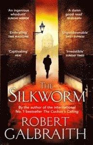 Boken The Silworm av Robert Galbraith aka J.K. Rowling.