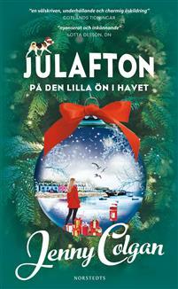 Boken Julafton på den lilla ön i havet av Jenny Colgan.